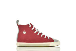 Dsquared2 Women's Sneaker Red IT37 / UK4 / US6,5 Casual Laces - Mod....
