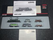 Marklin spur z scale/gauge OBB Freight Transport Set. V Rare.