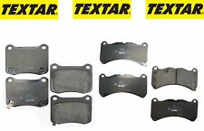 Lexus IS F 2008-2014 Front and Rear Disc Brake Pad Set Textar NEW