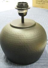 Desk Lamp Around METAL Copper Color Vase w/ plane white Shade (brand new)