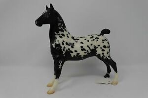 2006 BreyerFest SR Appydaze Black Leopard Appaloosa Hackney Pony 1500 Made