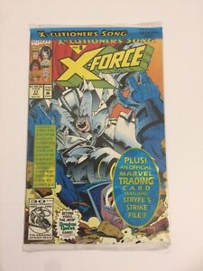 MARVEL COMICS X-FORCE #8 POLY-BAGGED SEALED WITH MR SINISTER CARD