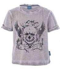 Vêtements gris avec des motifs Graphique pour garçon de 2 à 16 ans en 100% coton