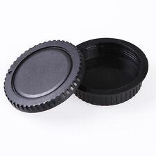 Camera Body Caps + Lens Rear Caps Protector Cover for Canon EOS DSLR Camera