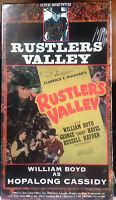 Rustler's Valley (VHS) SEALED: Rare 1937 Hopalong Cassidy western