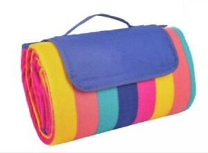FLEECE PICNIC BLANKET 2M X 1M - ONLY USED ONCE #1