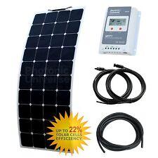 120W 12V ETFE flexible solar charging kit motorhome, caravan, camper, boat/yacht
