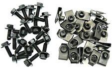 GM Truck Body Bolts & U-nut Clips- M6-1.0 x 20mm- 10mm Hex- 40 pcs (20ea)- #150F