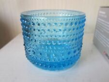 Blue Retro Scandinavian Art Glass