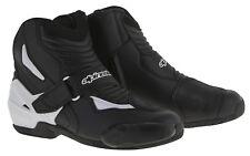 Alpinestars S-MX 1 R botas de moto caballero (negro/blanco) 42