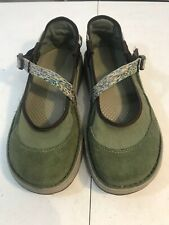 CHACO Loyalist Mary Jane Sandals Shoes Women 6 Green Slip On Shoe