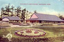 Pavilion At Lake Chauncy Westboro, Ma 1914