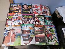 12 Vintage 1983 Sports IIllustrated Magazine Magazines Issues - Marino Elway +