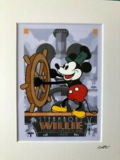 More details for disney - mickey mouse - steamboat willie - colour - hand drawn/hand painted cel