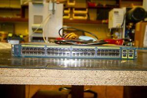 Used Cisco  Catalyst (WSC296048TCS) 48-Ports Rack-Mountable Switch Managed