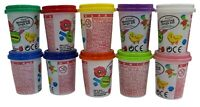10 Modeling Clay Dough Craft Set 10 Tubs 10 Assorted colours