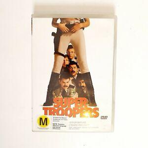 Super Troopers Movie DVD Region 4 AUS Free Postage - Comedy