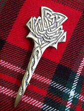 TC Modern Thistle Kilt Pin.Scottish thistle kilt Pins,Highland thistle kilt pins