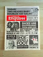 Airwalk Skateboard Shoes Newspaper Magazine Catalog National Enquirer Spoof