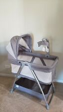 New ListingSimmons Kids City Sleeper Bassinet Grey Tweed Portable Bedside Sleeper
