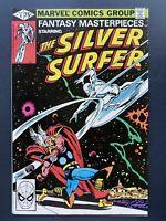 Marvel Comics Fantasy Masterpieces The Silver Surfer #4 1979 75c Reprint THOR