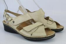 Finn Comfort Gr.38,5 Uk.5,5 Damen Sandalen Sandaletten TOP  Nr. 102 A