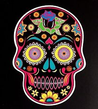 SUGAR SKULL Sticker Day of the dead Style TATTOO STYLE 120mm x 90mm IPAD laptops
