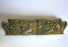 ancienne serrure bronze poignée porte chateau maison maitre deco architecture ST