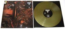 ASPHYX - THE RACK Gold Vinyl LP /200 - Bolt Thrower Pestilence Autopsy Obituary