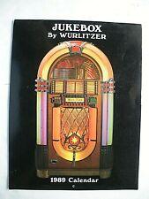 1989 Jukebox By Wurlitzer 12 Month (31 Year Old) Calendar
