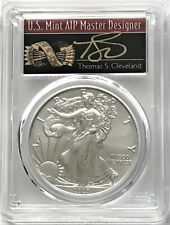 2020 SILVER EAGLE FIRST DAY OF ISSUE PCGS MS70 CLEVELAND HAND SIGNED ARROWS