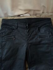 Belstaff Waxed Denim Motorcycle Pants 6 Pockets $600