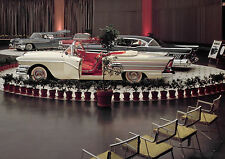 1958 Car Show Buick Oldsmobile Exhibit 8 x 10 Photograph