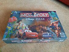 Monopoly Disney Pixar Edition Very Good Condition Toystory Cars Nemo 2007