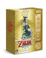 Wii Legend of Zelda: Skyward Sword 25th Anniversary Memorial Pack Japan Anime