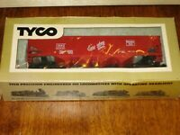 "Tyco 344B:250 HO Scale 70 ton Quad Hopper ""BURLINGTON"" Ready to Run"
