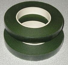 Green Florists Stem Wrap Tape Pack of 2 Rolls