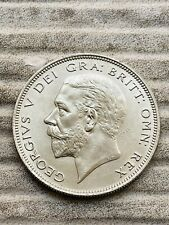 More details for 1933 george v half crown, scarce lustrous unc example