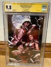 Vampirella Red Sonja #1 CGC SS 9.8 Signed Inhyuk Lee Virgin Variant Cover Comic