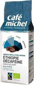 Decaf ground coffee arabica Ethiopia Fair Trade BIO 250 g - Cafe Michel