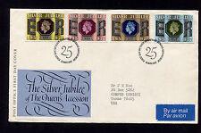1977 Britain Edinburgh Silver Jubilee Fdc 21177