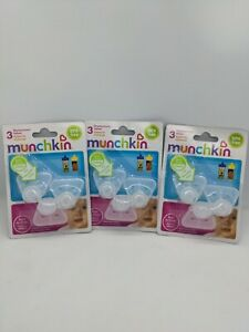 Lot of 9 Munchkin Replacement Valves 3 Count 3 Packs