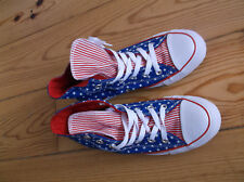 Converse CT All-Star Hi Polka Dot Trainers Blue/White/Red, SIZE UK 4,EU 36.5