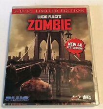 Zombie (aka Zombi 2) Fulci Lim Ed Blue Underground (2-Disc Blu-Ray + CD) Bridge