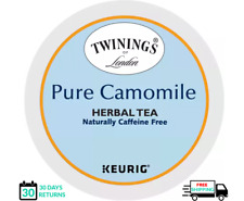 Twinings Pure Camomile Tea K-cups YOU PICK THE SIZE