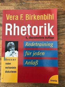 TB: Rhetorik, Redetraining; Vera Birkenbihl