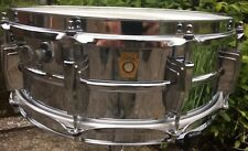 Vintage 1969 Ludwig Supraphonic LM400 5x14 Snare Drum VERY NICE!