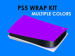 PS5 Skin Decal Vinyl Wrap Cover Sticker for PlayStation 5 Lots Of Colors NEW