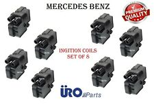 Direct Engine Ignition Coils Set of 8 For Mercedes C CL E G ML S SL SLK URO