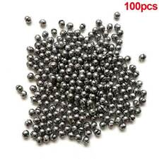 100pcs 0.5g Round Fishing Weight Fishing Sinker Split Lead Shot Sinker Tackle